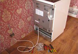 Подключение электроплиты. Тамбовские электрики.